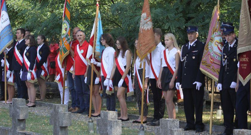 Uroczystości patriotyczne, Łowicz miejskie obchody rocznicy wybuchu wojny światowej (DUŻO ZDJĘĆ) - zdjęcie, fotografia