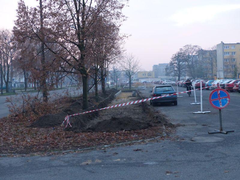 Inwestycje, Przejścia wysepkami Starzyńskiego jeszcze - zdjęcie, fotografia
