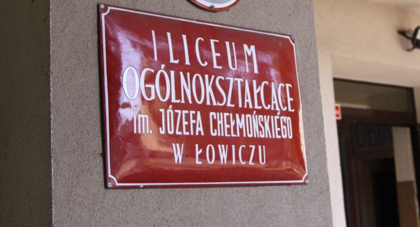 Edukacja, Zaproszenie zjazd Koła wychowanków Łowiczu - zdjęcie, fotografia