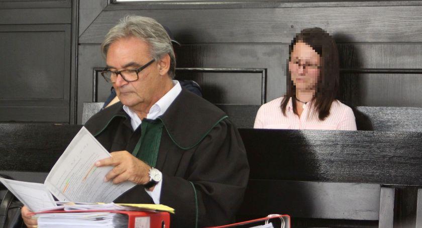 Z sali rozpraw, Zakończył proces oskarżonych zabójstwo Mirona Łowicza Oboje twierdzą niewinni - zdjęcie, fotografia