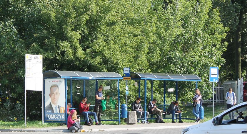 Gospodarka, połączenia autobusowe powiecie łowickim (ogólny rozkład) - zdjęcie, fotografia