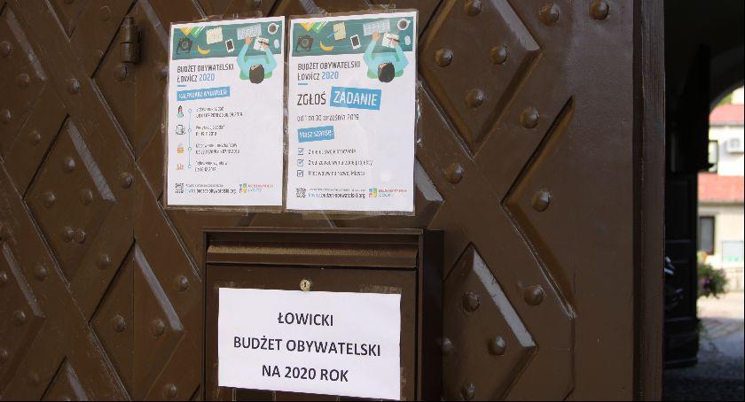 Urząd Miejski, Zgłoś propozycje budżetu obywatelskiego Łowiczu - zdjęcie, fotografia