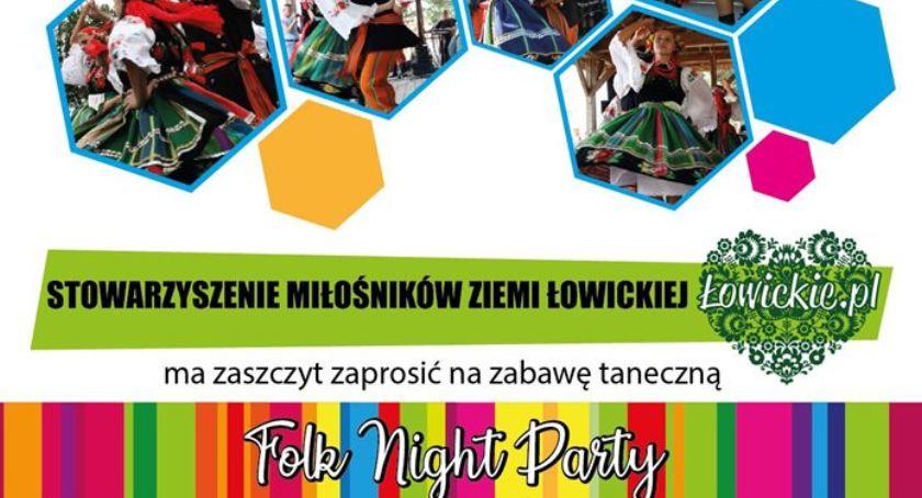 Spotkania, Zaproszenie Night Party Lasku Miejskiego - zdjęcie, fotografia