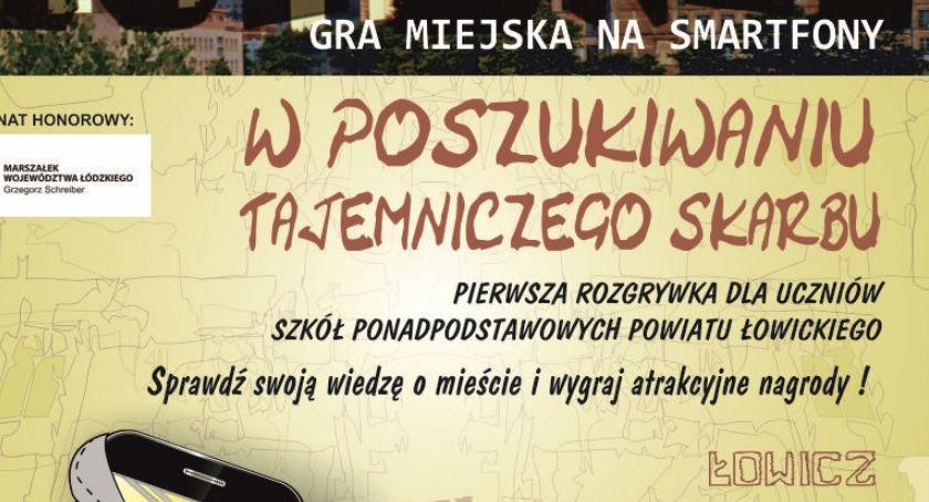 Edukacja, wkrótce Łowiczu pierwsze rozgrywki miejskiej smartfony - zdjęcie, fotografia