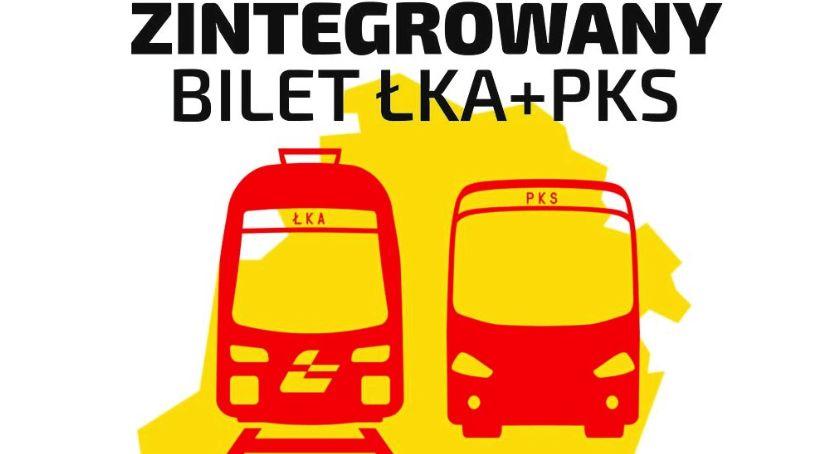 Wasze sprawy, Zintegrowany bilet kolejowy autobusowy - zdjęcie, fotografia