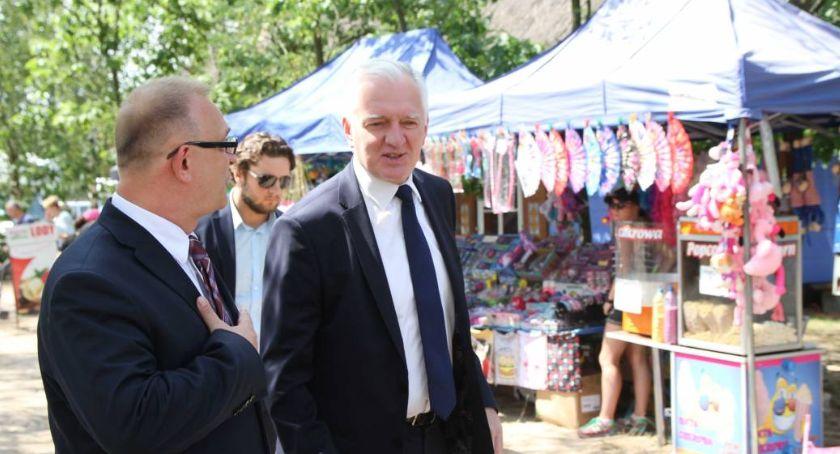 Wybory do parlamentu 2019, Jarosław Gowin Łowiczu - zdjęcie, fotografia
