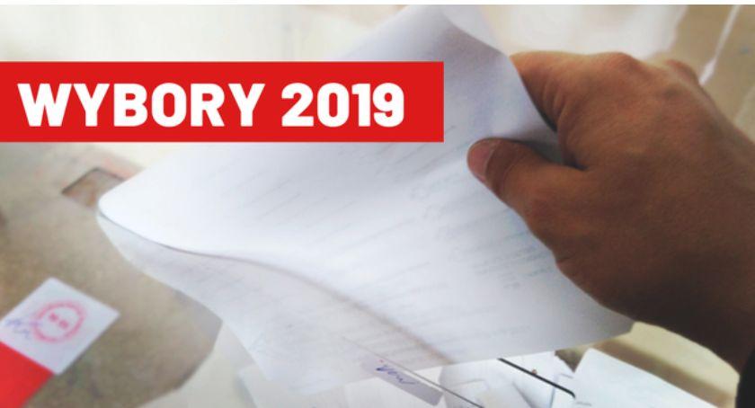 Wybory do parlamentu 2019, Wybory Parlamentarne Kandydaci Sejmu Senatu Łowicz - zdjęcie, fotografia