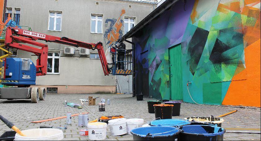 Warsztaty, folklorystyczny festiwal graffiti - zdjęcie, fotografia