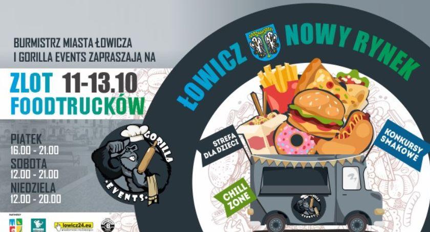 Spotkania, Zakończenie sezonu Foodtrucków Łowiczu - zdjęcie, fotografia
