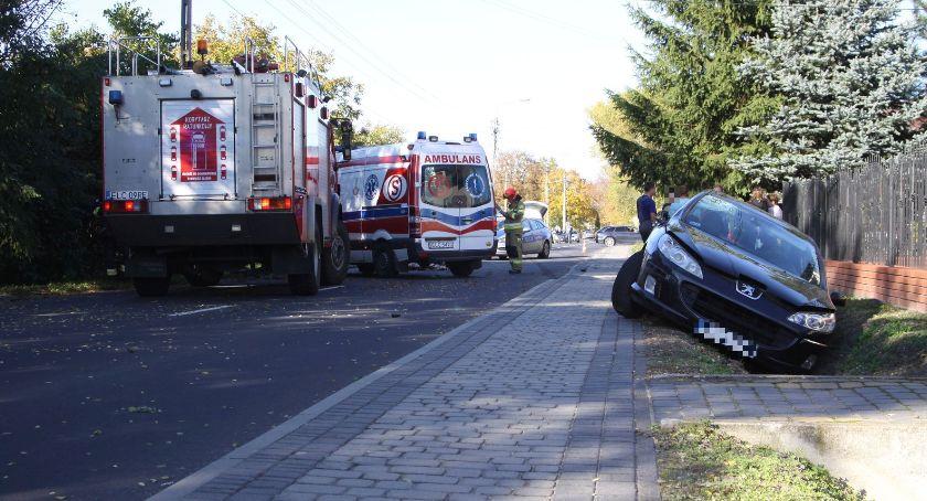 Wypadki i kolizje, Śmiertelny wypadek Nieborowie żyje rowerzysta - zdjęcie, fotografia