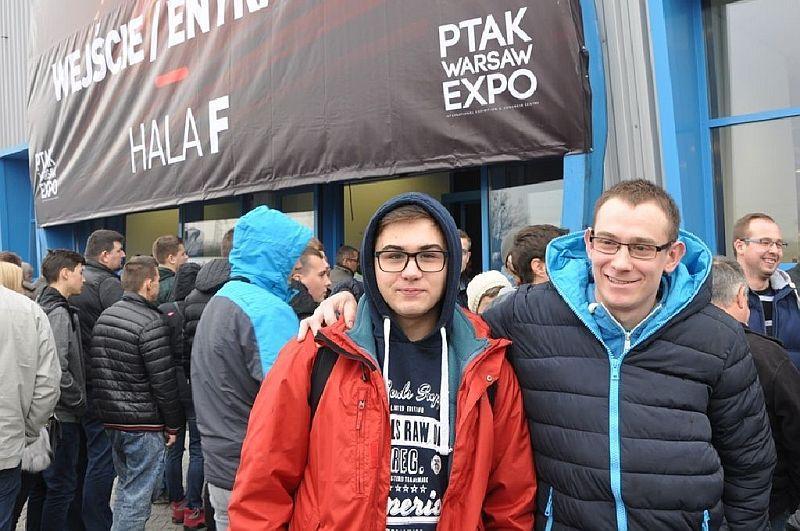 Edukacja, Młodzież targach Warsaw - zdjęcie, fotografia