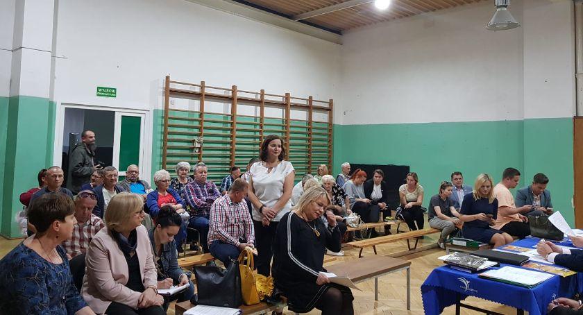Zarządy osiedli, Zebrania mieszkańców osiedle Kostka - zdjęcie, fotografia