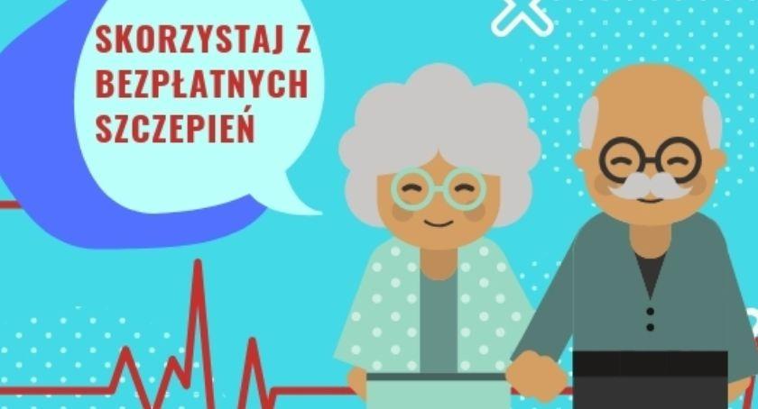 Szpital i opieka społeczna, Szczepienia przeciw grypie mieszkańców Gminy Łowicz powyżej życia - zdjęcie, fotografia