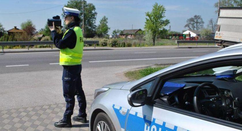 Komunikaty policji , Dziś policyjna akcja Prędkość - zdjęcie, fotografia