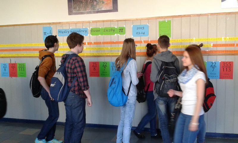 Edukacja, Matematyczne święto Gimnazjum Pijarskim - zdjęcie, fotografia