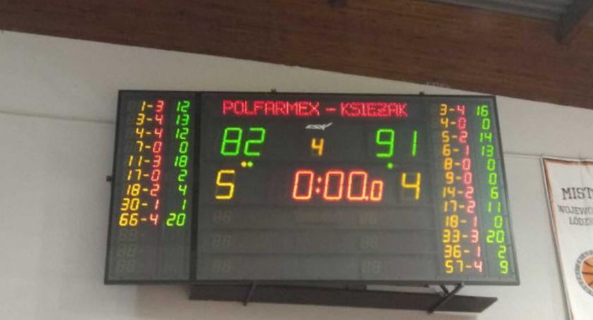 Koszykówka, Księżak wygrywa derby regionu - zdjęcie, fotografia