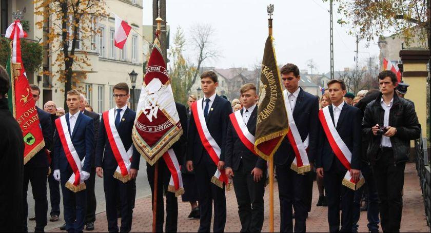Uroczystości patriotyczne, piątek powiatowo miejskie obchody Święta Niepodległości Łowiczu [PROGRAM] - zdjęcie, fotografia