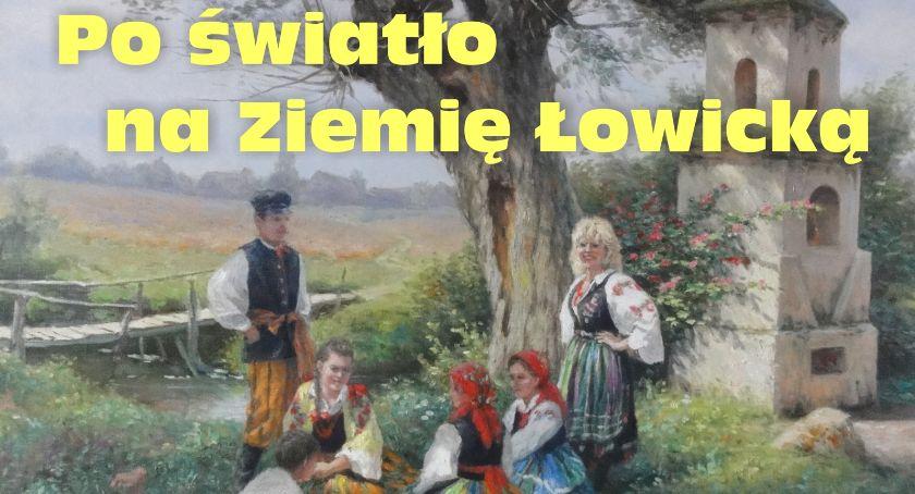 """Wystawy, Wernisaż wystawy """"Po światło Ziemię Łowicką"""" - zdjęcie, fotografia"""