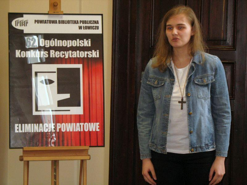 Konkursy, Recytatorskie zmagania - zdjęcie, fotografia