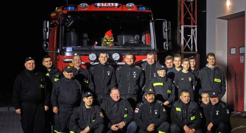 Straż Pożarna, Druhowie Rogóźnie przywitali strażacki (ZDJĘCIA VIDEO) - zdjęcie, fotografia