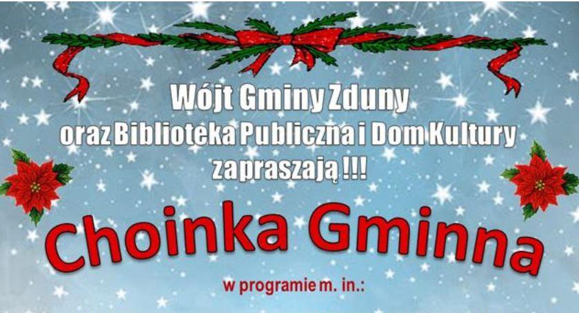 Wasze sprawy, Choinka Gminna Zdunach zaproszenie - zdjęcie, fotografia