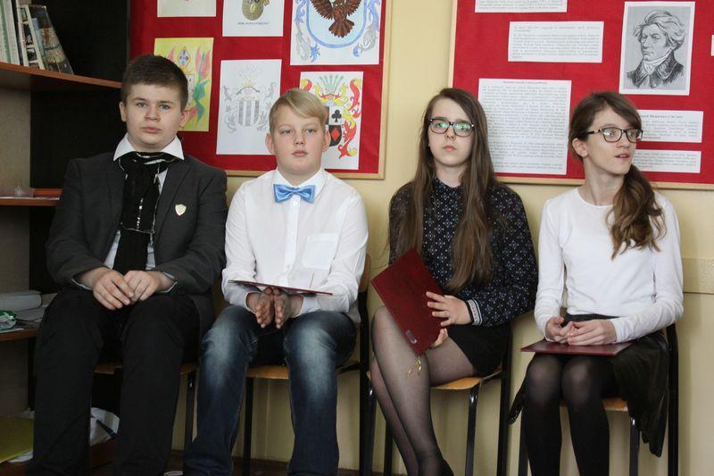 Edukacja, Lekcja patronie przyjaciołach emigracji - zdjęcie, fotografia