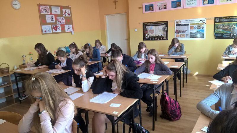 Edukacja, Konkurs ortograficzny rekordową frekwencją - zdjęcie, fotografia