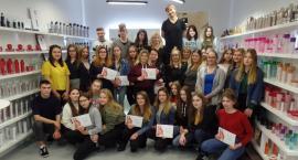 Szkolenie z firmą Schwarzkopf dla przyszłych fryzjerów z ZSP nr 3