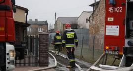 Pożar domu na Nadbzurzańskiej