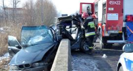Wypadek na DW 703. Poszkodowana mieszkanka Sochaczewa