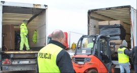 Ogromny ładunek kontrabandy znaleziony w Łowiczu