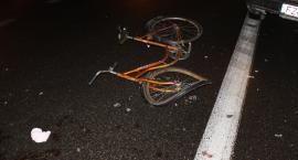Groźne potrącenie rowerzystki