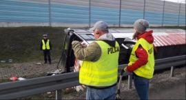 Wypadek autokaru Łowicz: 18 poszkodowanych obywateli Białorusi
