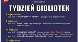 Tydzień Bibliotek z miejską i powiatową biblioteką