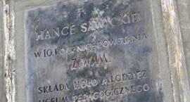O działaniach podjętych ws. tablicy Hanki Sawickiej