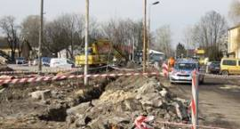Niewybuch na placu budowy