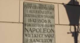 Symbolicznie o wizycie Napoleona w Łowiczu