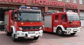 Dzięki szybkiej reakcji strażacy opanowali pożar domu