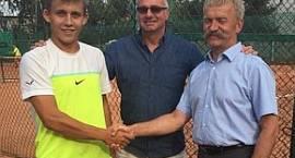 Kuba Dańczak tenisowym mistrzem Łowicza