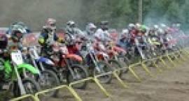 Zawody motocrossowe w Nieborowie