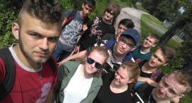 Młodzież ZSP 1 na Rajdzie Śladami Puszczy Bolimowskiej