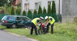 Motocykl i volkswagen zderzyły się w Parmie