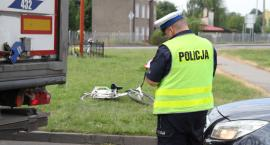 Potrącenie rowerzystki na Nadbzurzańskiej - aktualizacja/sprostowanie