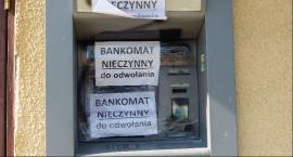 Czarna robota przy bankomacie w Złakowie Kościelnym