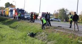 Poważny wypadek w Łowiczu. Zablokowana DK nr 92