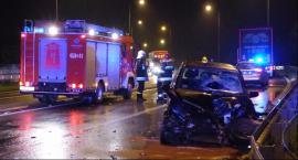 Wypadek na Poznańskiej, trzy kolizje na A2