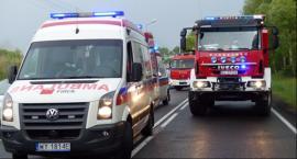 Młodą mieszkankę Skierniewic LPR przetransportował do szpitala w Łodzi