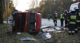 Wypadek na DK 14 w Jamnie