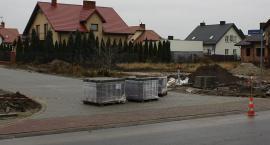 Trwają prace na ulicy Szafirowej