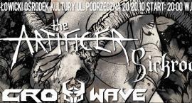 The Artificer, Crosswave, Sickroom: metalowy koncert w Łowiczu
